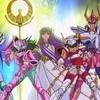 Qual a ordem cronológica do anime de Os Cavaleiros do Zodíaco?
