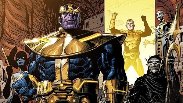 Thanos e sua Ordem Negra