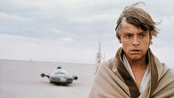 Luke em Tatooine