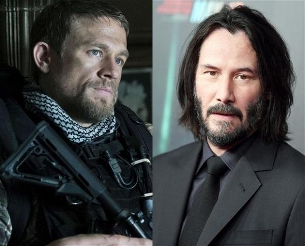 Charlie Hunnam e Keanu Reeves