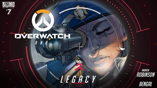 Capa da HQ Legacy