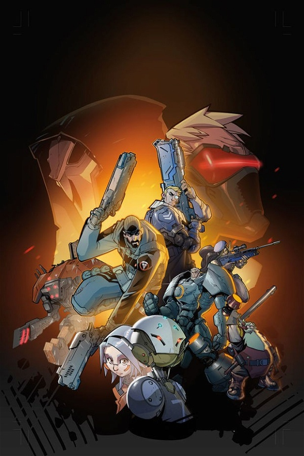 Capa de Overwatch graphic novel
