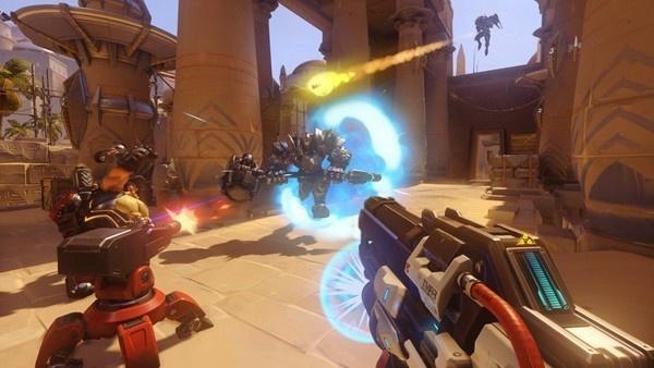 captura de tela de Overwatch