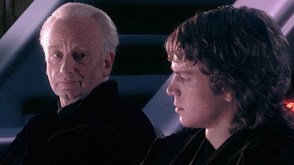 Senador Palpatine e Anakin