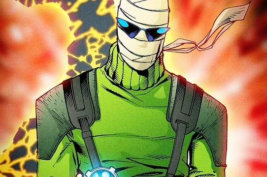 Conheça Homem-Negativo, o herói radioativo de Patrulha do Destino!