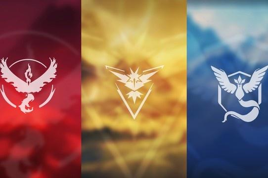 Pokémon GO: Conheça os 3 times!