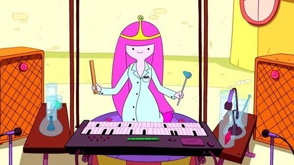 Princesa Jujuba no seu concerto