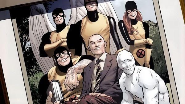 Professor Xavier e X-Men