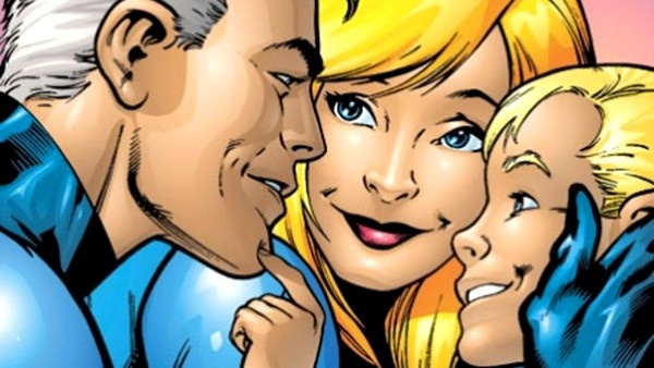 Reed Richards, Sue Storm e Franklin