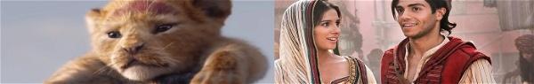 Rei Leão e Aladdin | Pumba e Jafar em imagens de merchandising
