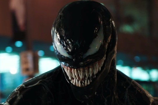 SAIU! Tom Hardy se transforma em Venom em novo trailer