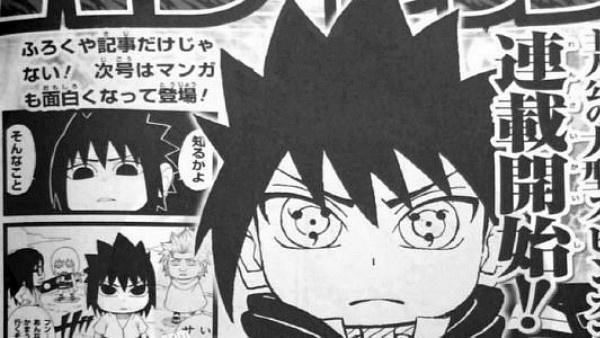 Sasuke mangá