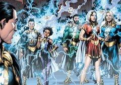 Shazam! Arte promocional confirma Família Shazam no filme!