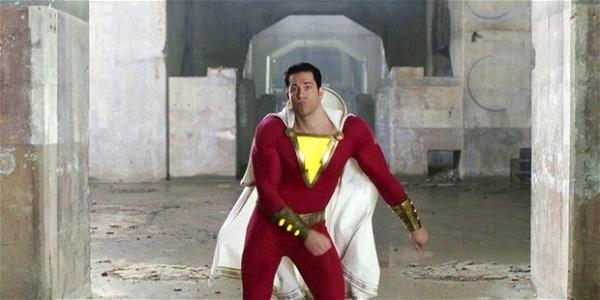 Shazam dançando