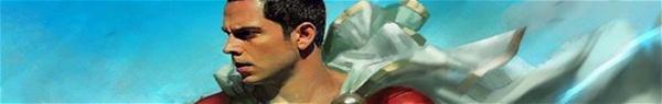 Shazam: imagens de Zachary Levi usando o traje do herói reveladas!