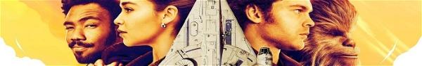 Solo e Chewie pilotam Millenium Falcon pela primeira vez em vídeo