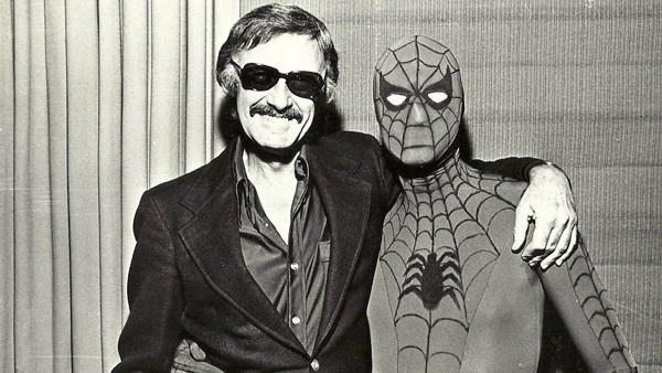Stan Lee e Homem-Aranha
