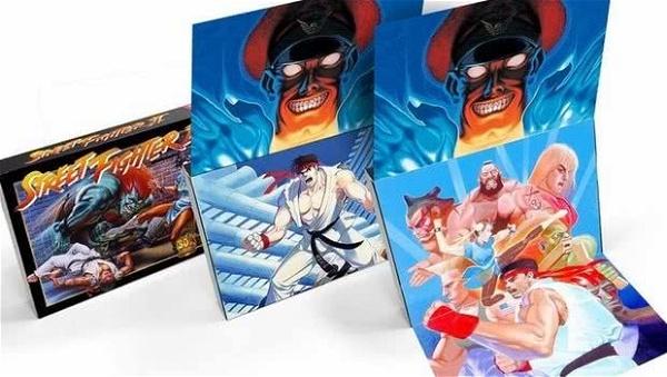 Capcom vende cartucho SNES de Street Fighter II