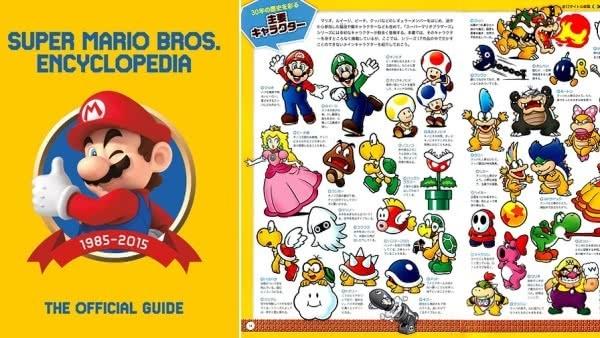 Dark Horse anuncia Super Mario Encyclopedia para o ocidente