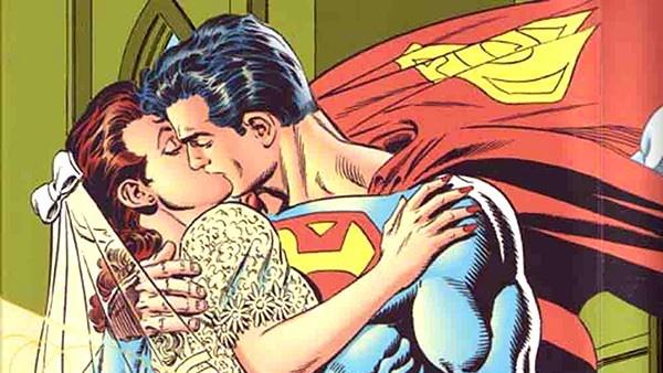 casamento de Clark e Lois