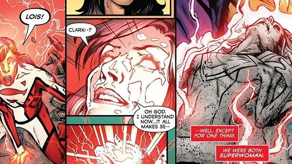 morte da Superwoman