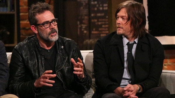 Jeffrey Dean Morgan e Norman Reedus