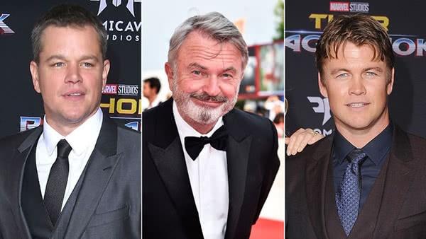 Matt Damon, Sam Neil, Luke Hemsworth