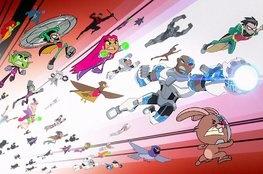 Teen Titans Go! vs. Teen Titans ganha 1º TRAILER super divertido!