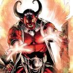 Tema o terrível Trigon! O demoníaco vilão dos Jovens Titãs
