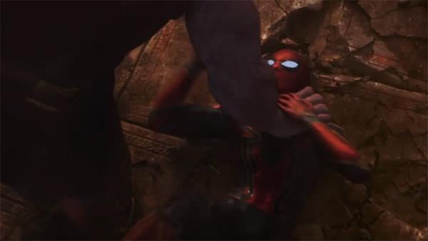 Thanos e Homem-Aranha