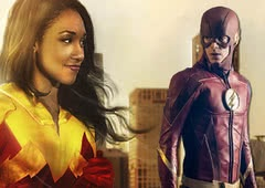 The Flash: fotos mostram Iris usando um misterioso traje