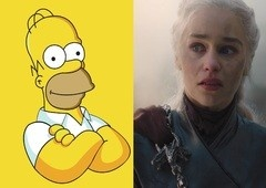 The Simpsons previu destino de Daenerys em Game of Thrones