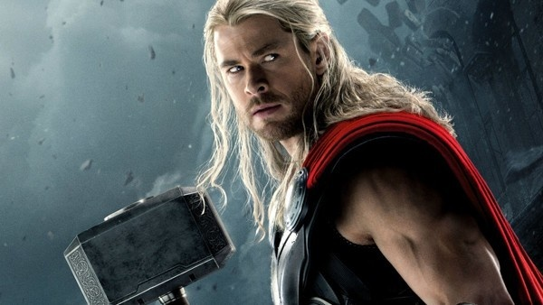 Chris Hemsworth no papel de Thor