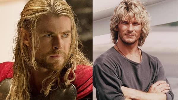 Thor e Patrick Swayze