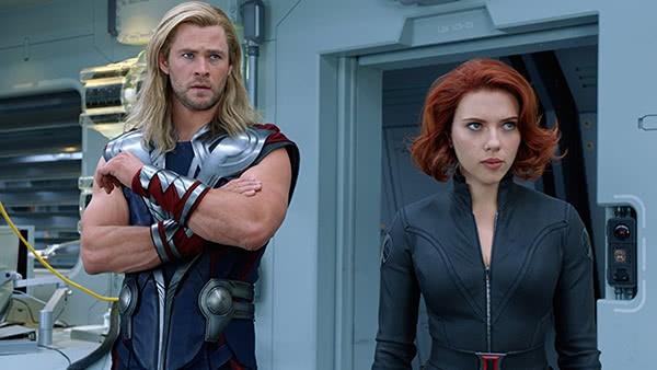 Thor e Viúva Negra