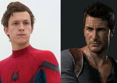 Tom Holland no papel de Nathan Drake no filme de Uncharted!