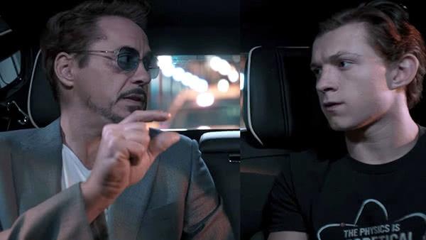 Tony Stark e Peter Parker