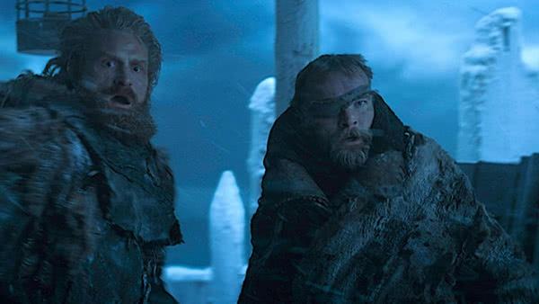Tormund Giantsbane e Beric Dondarrion