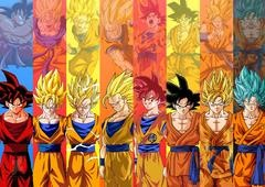 Todas as transformações Super Saiyajin de Dragon Ball