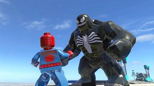 homem aranha lego