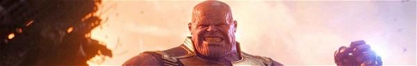 Vingadores: Guerra Infinita | Arte conceitual mostra antigo visual de Thanos