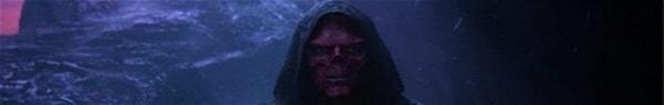 Vingadores: Ultimato | Arte traz visual grotesco do Caveira Vermelha