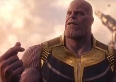 Vingadores: Ultimato   Arte mostra Thanos em sua fazenda