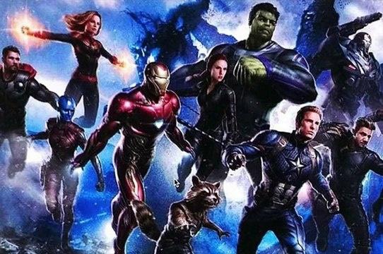 Vingadores: Ultimato - (SPOILER) compartilha bastidores de refilmagens
