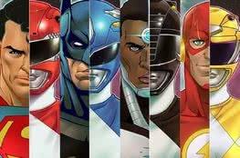 Você sabia que a Liga da Justiça é agora composta por Power Rangers?