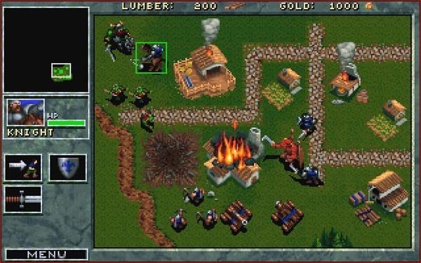 captura de tela do game Warcraft: Orcs and Humans