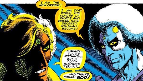 Adam Warlock e Magus