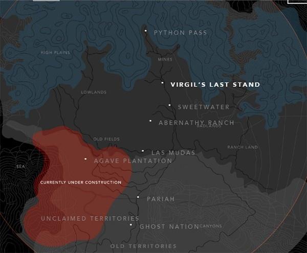 mapa de Westworld