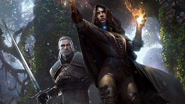 Geralt e Yen