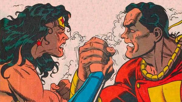 WonderWoman e Shazam